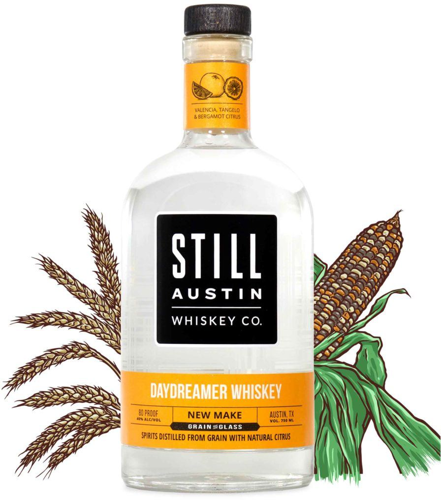 daydreamer whiskey produced by still austin whiskey co in austin texas