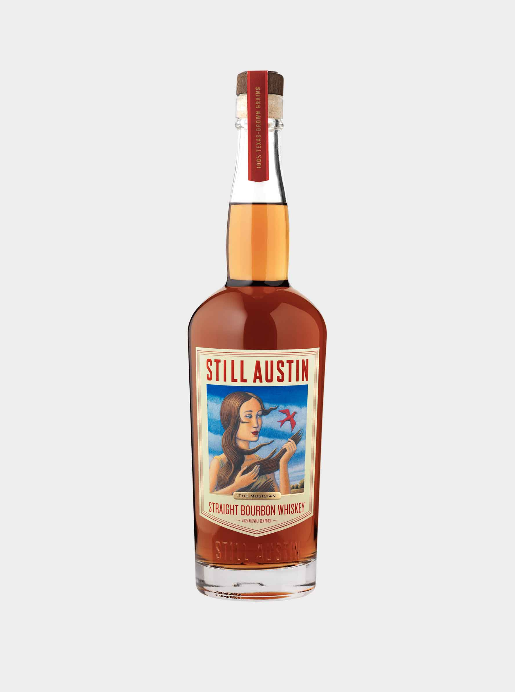 still austin whiskey straight bourbon whiskey bottle