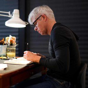 Artist Marc Burckhardt interviewed for Still Austin's Seven Questions interview series